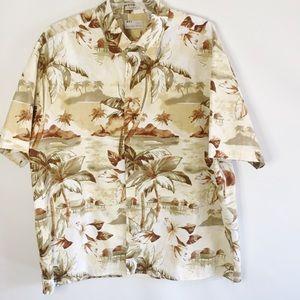 Natural Issue Hawaiian Shirt, men's XL